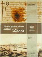 Tisuću godina pisane baštine Zadra