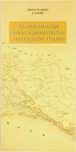 Granice Dalmacije prema susjedima tijekom devetnaestog stoljeća