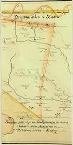 Kninsko područje na zemljopisnim kartama i katastarskim planovima iz Državnog arhiva u Zadru