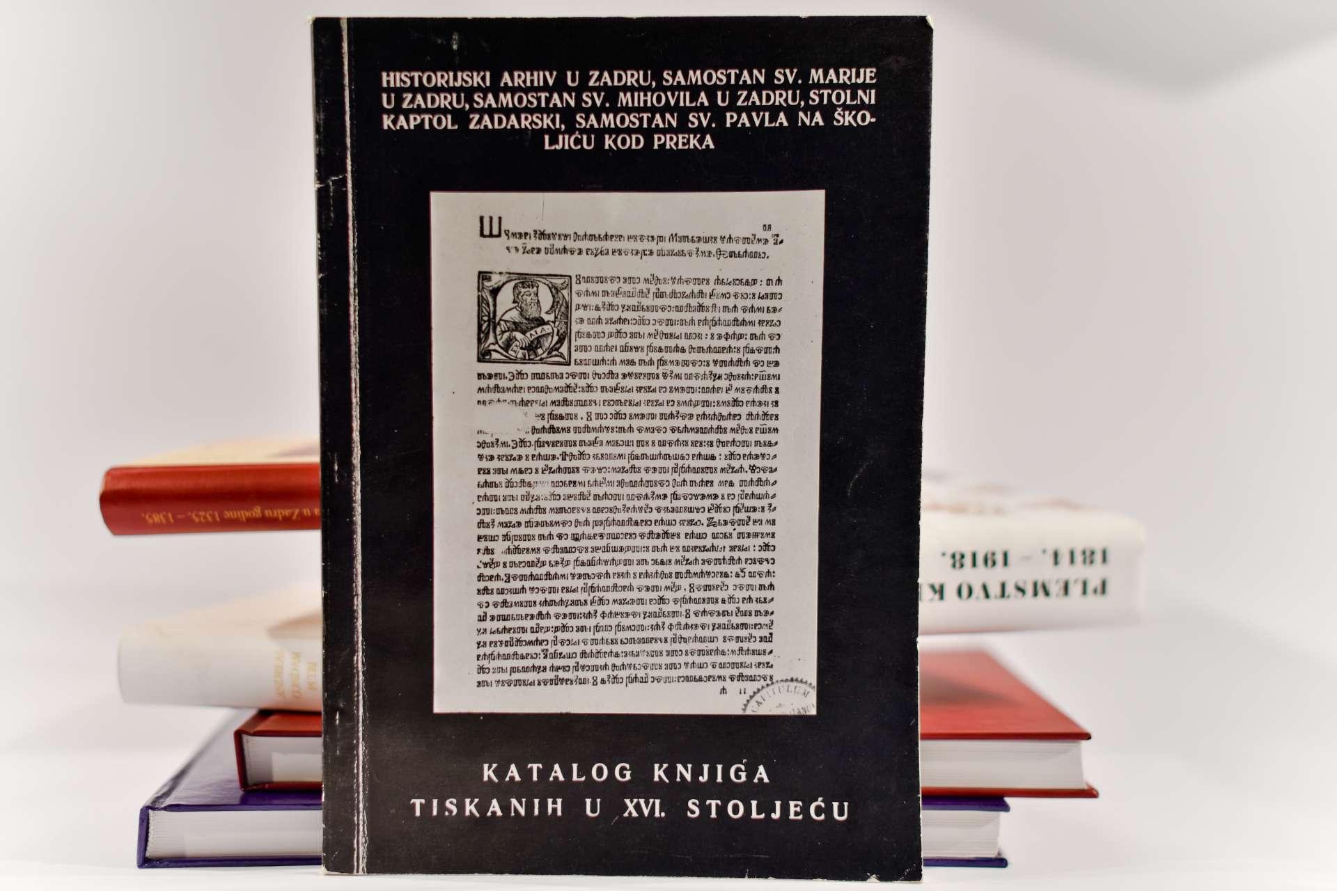 KATALOG KNJIGA TISKANIH U XVI. STOLJEĆU