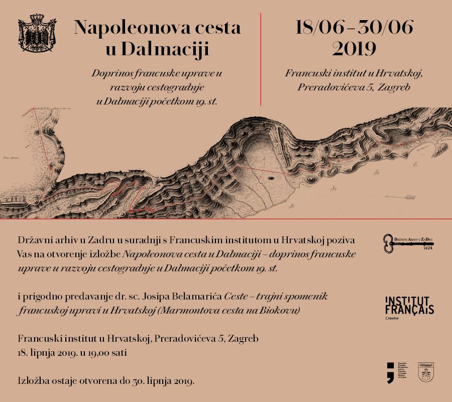 The State Archives In Zadar Napoleonova Cesta U Dalmaciji