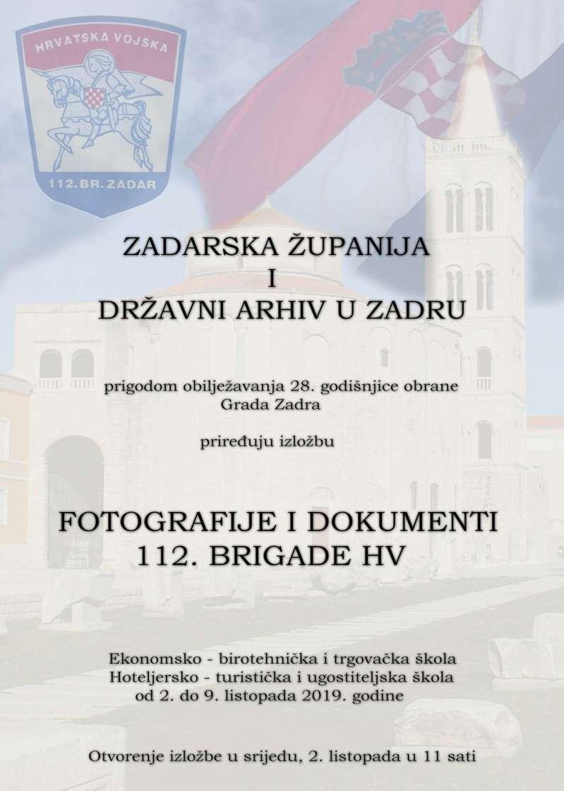 Fotografije i dokumenti 112. brigade HV