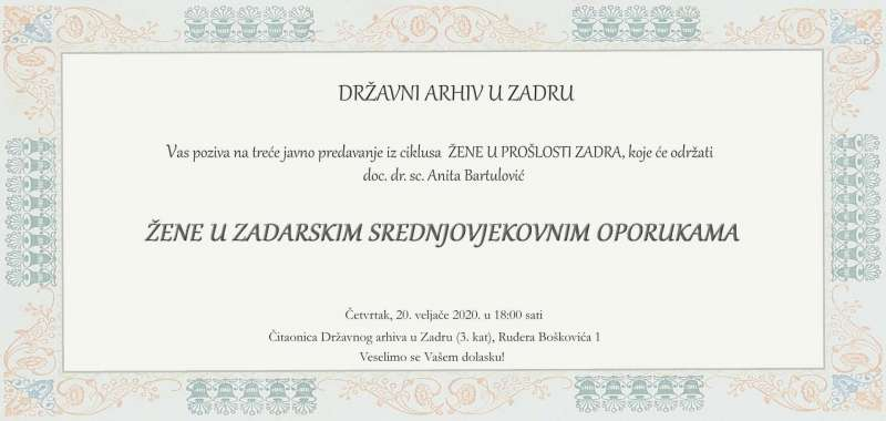 Doc. dr. sc. Anita Bartulović: