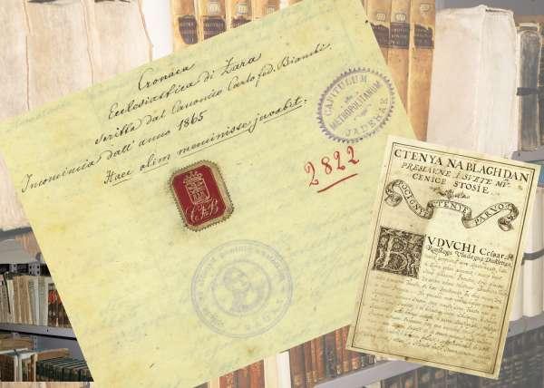 Kliofest on-line: Rukopisne knjige iz Knjižnice Stolnog kaptola Sv. Stošije u Zadru