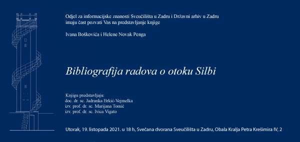 Bibliografija radova o otoku Silbi